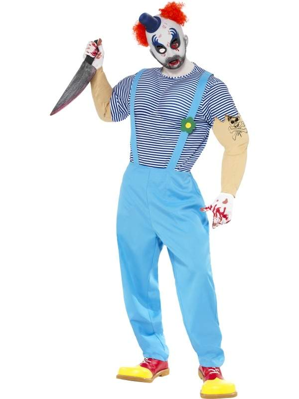 Enge Halloween Kostuums.Enge Horror Clown Halloween Horror Kostuum