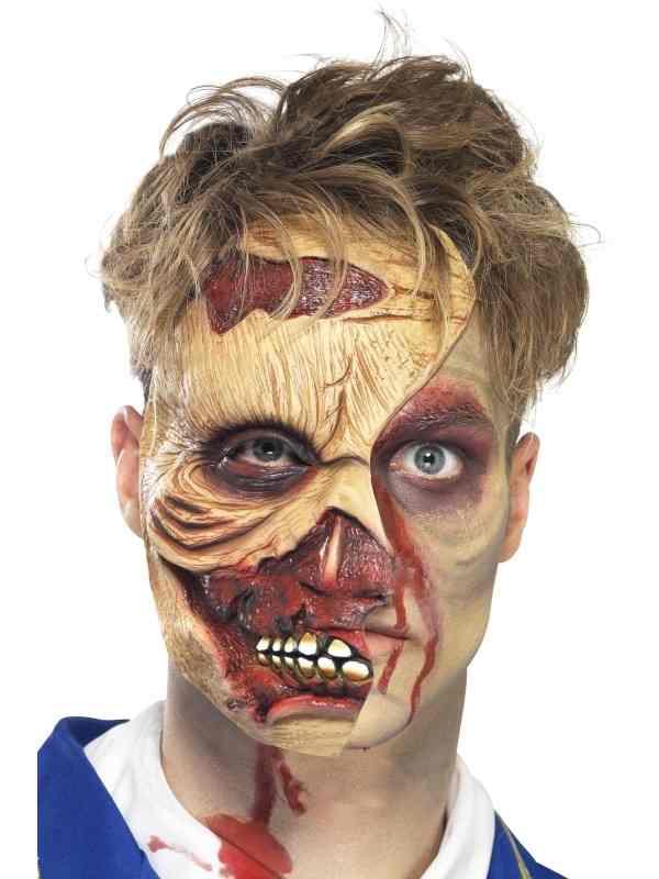 Zombie Phantom Half Gezichtsmasker