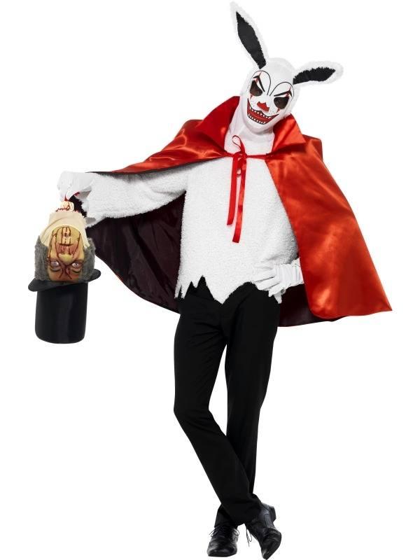 Enge Kostuums Halloween.Circus Sinister Enge Goochelaar Heren Halloween Kostuum