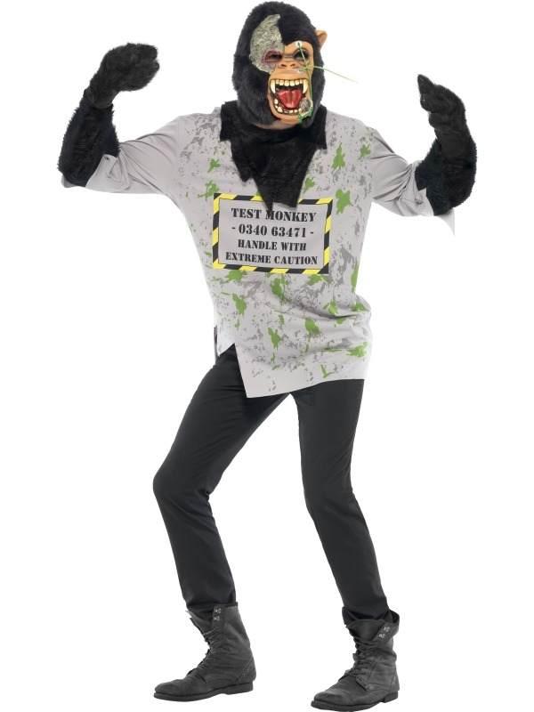 Enge Kostuums Halloween.Mutant Monkey Enge Aap Heren Kostuum Halloween