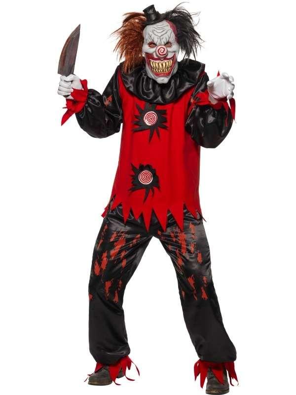 Enge Halloween Kostuums.Enge Killer Horror Clown Halloween Kostuum