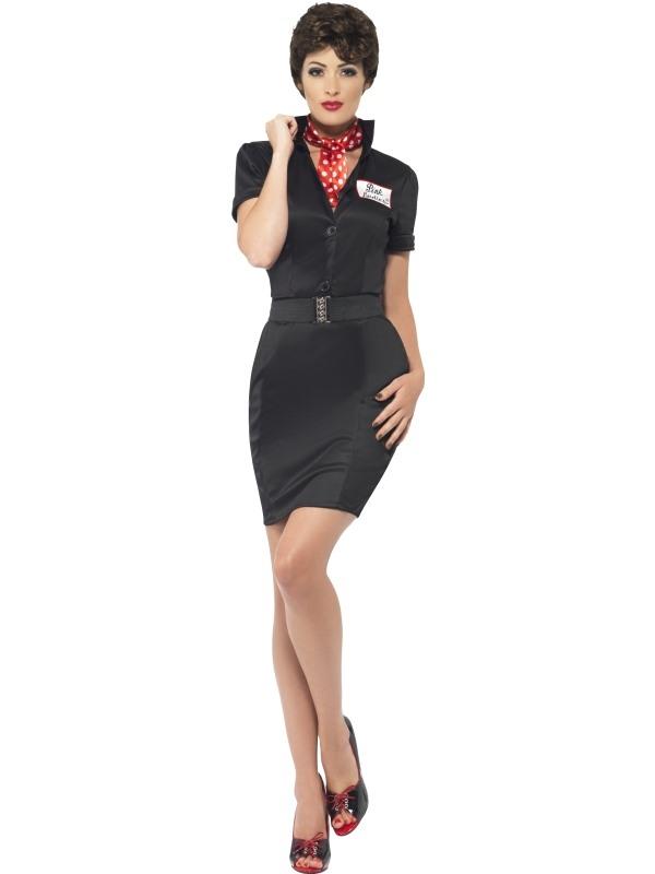 voorbeeld van beste prijzen aantrekkelijke prijs Grease Rizzo Dames Verkleedkostuum snel thuis bezorgd!