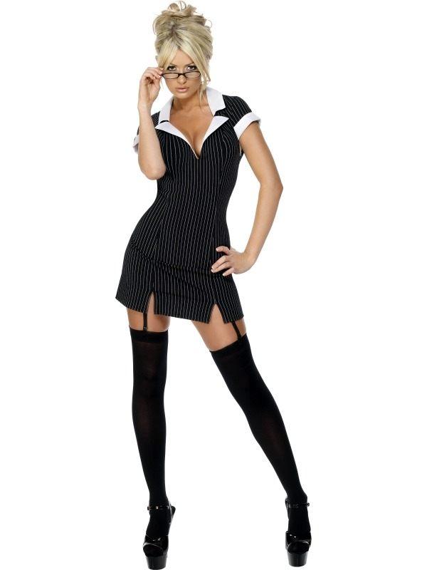 Fever Secretaresse Kostuum