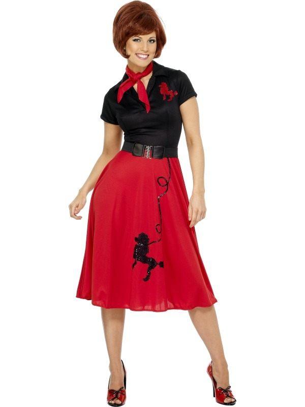 1950s Style Poodle Dames Kostuum