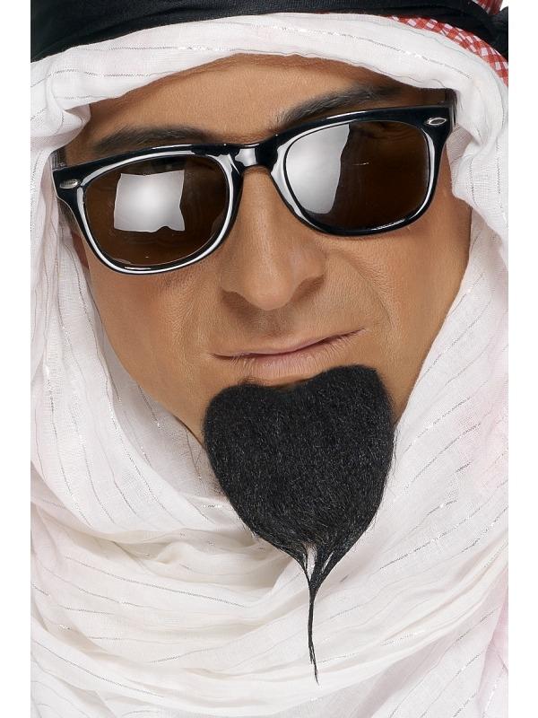 Zwarte Arabieren Baard