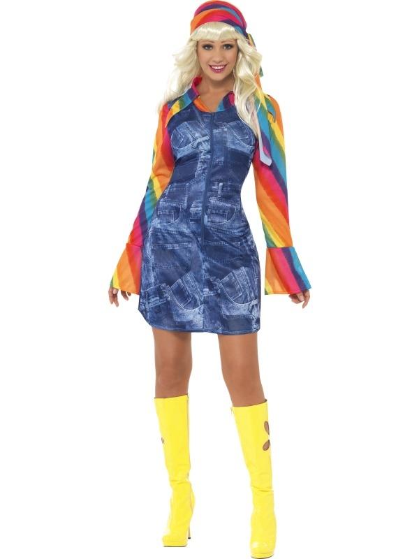 Groovier Dancer Kostuum 1970's verkleedkleding