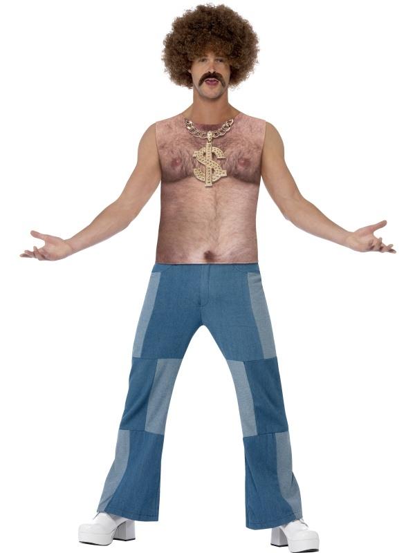 Realistische 70's Harige Borst