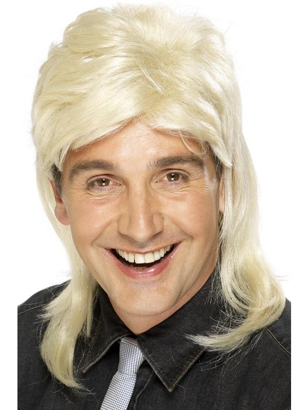 Blonde Pruik met Mat