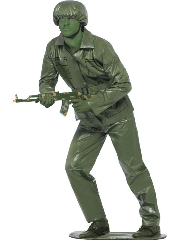 Toy Soldier Soldaat Kostuum