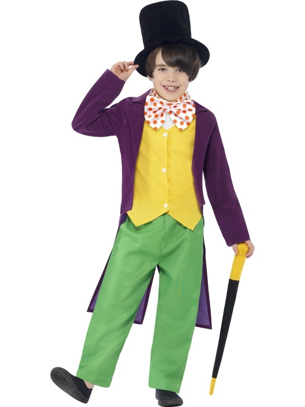 Roald Dahl Willy Wonka Kinder Kostuum
