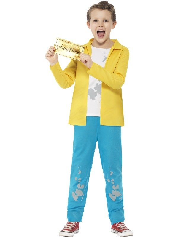 Sjakie en de chocoladefabriek Sjakie Kinder Kostuum Roald Dahl