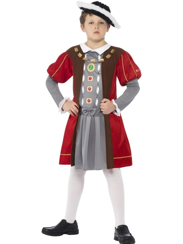 Horrible Histories Henry VIII Kinder Kostuum