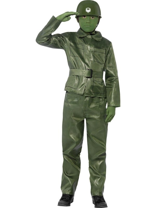Toy Soldier Soldaat Kinder Kostuum