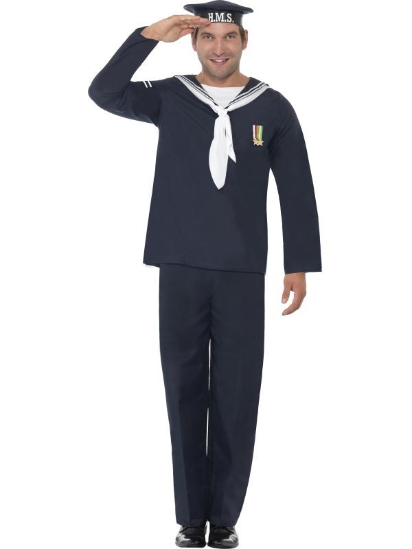 Marine Naval Seaman WW2 Kostuum