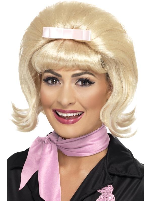 50's Blonde Beehive Bob