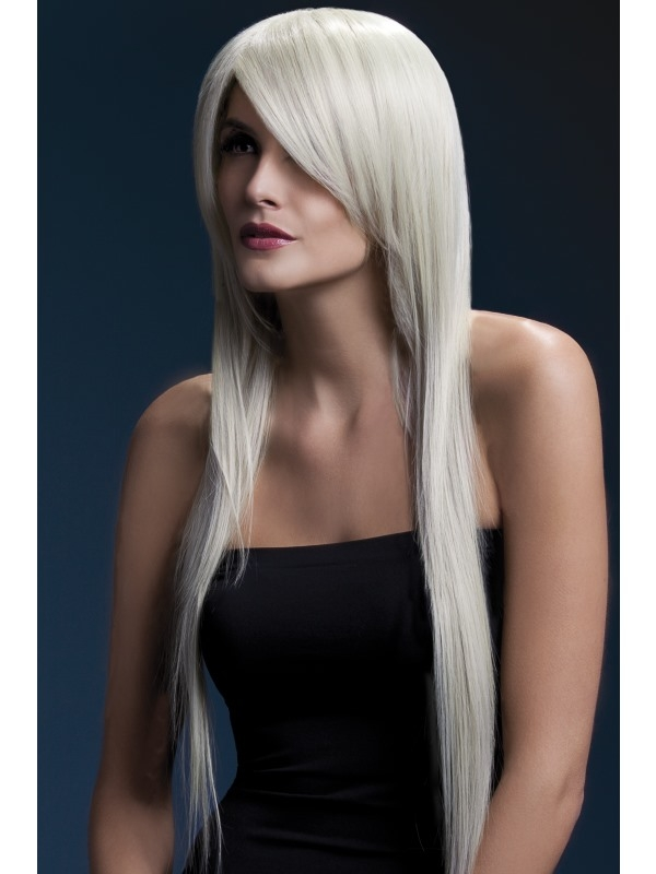 Fever Amber Pruik Blond 71cm