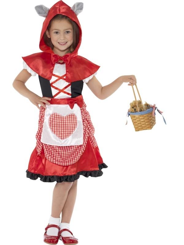 Roodkapje Kinder Kostuum