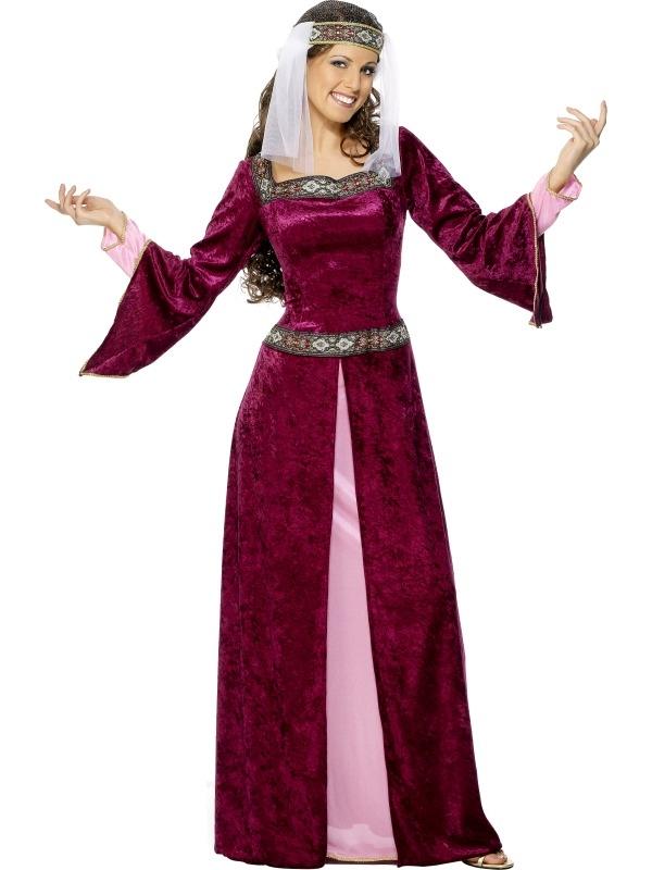 Middeleeuws Vrouwe Marianne Kostuum