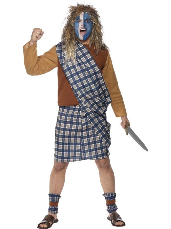Brave Scotsman Dappere Schot Kostuum