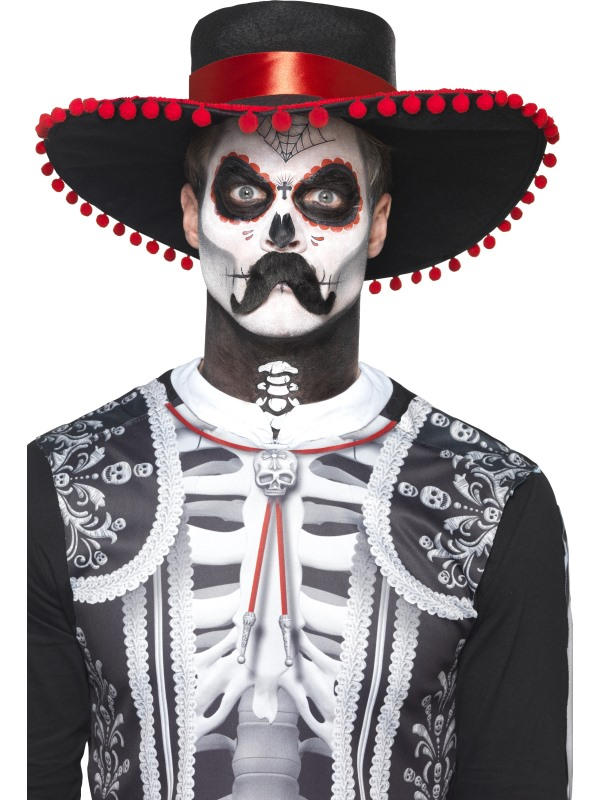 Day of the Dead Senor Bones Make-Up Schmink