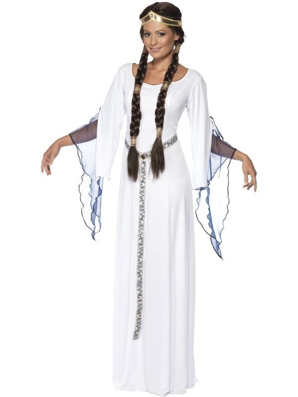 Medieval Maid Dames Verkleedkostuum