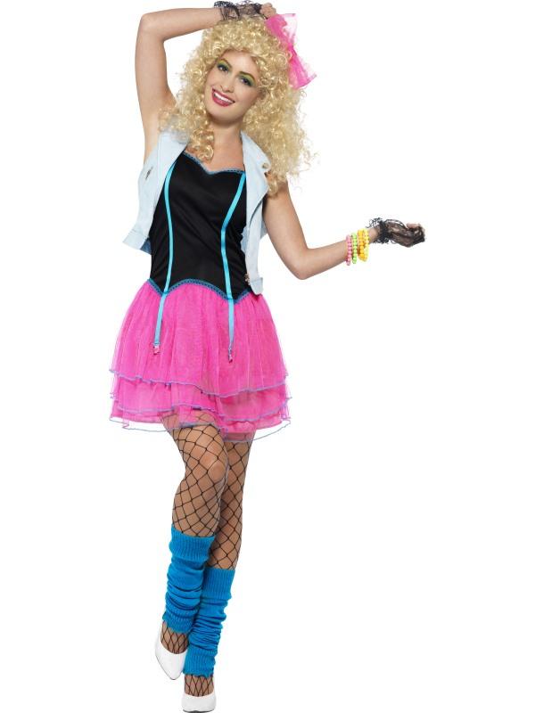 80's Wild Girl Madonna Look Kostuum