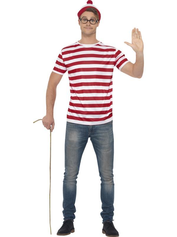 Where's Wally Verkleedset