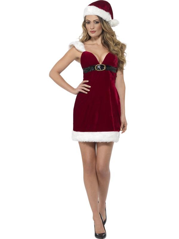 Miss Santa Sexy Strakke Kerst Jurk