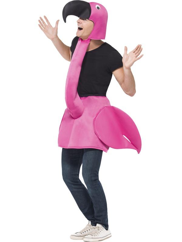 Flamingo Verkleedkostuum Carnaval