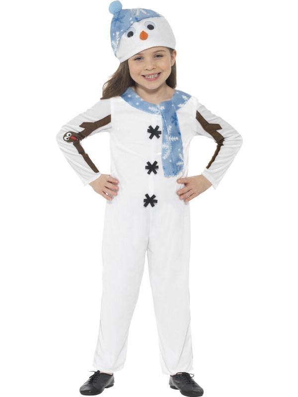 Sneeuwpop Peuter Kostuum