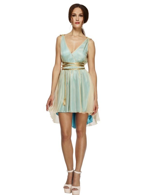 Fever Griekse Koningin Dames Verkleedkleding
