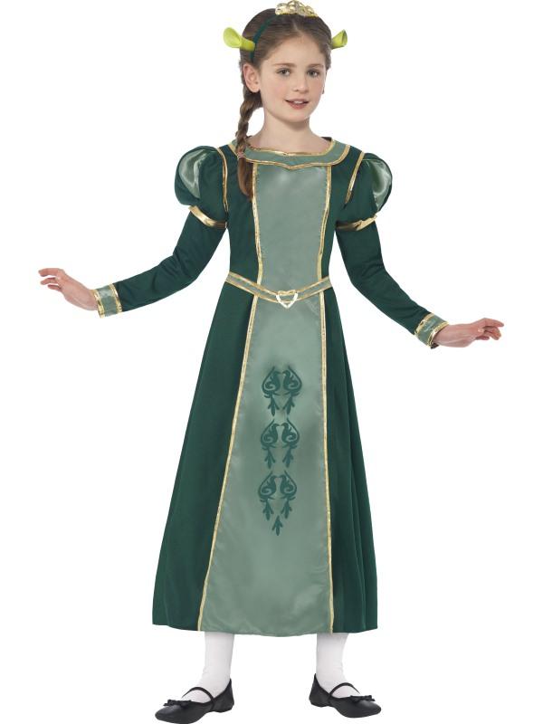 Shrek Prinses Fiona Meisjes Verkleedkleding