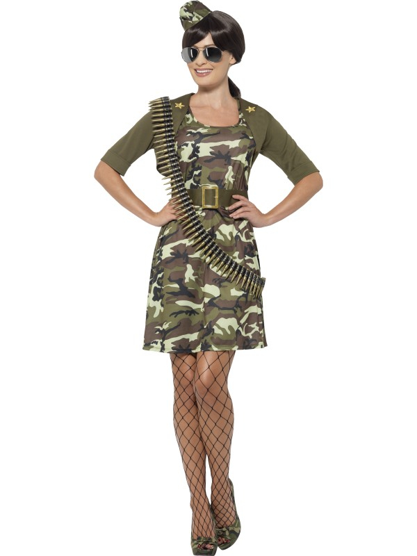 Combat Cadet Dames Kostuum