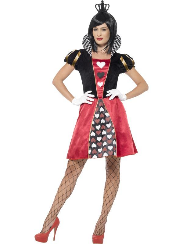 Harten Koningin Alice in Wonderland Kostuum