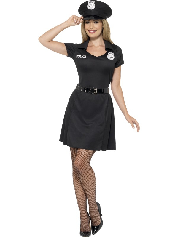 Special Agent Politie  Kostuum Dames