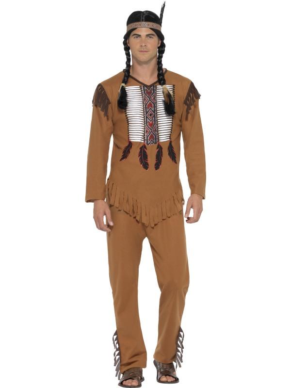 Native American Inspired Warrior Indiaan Kostuum