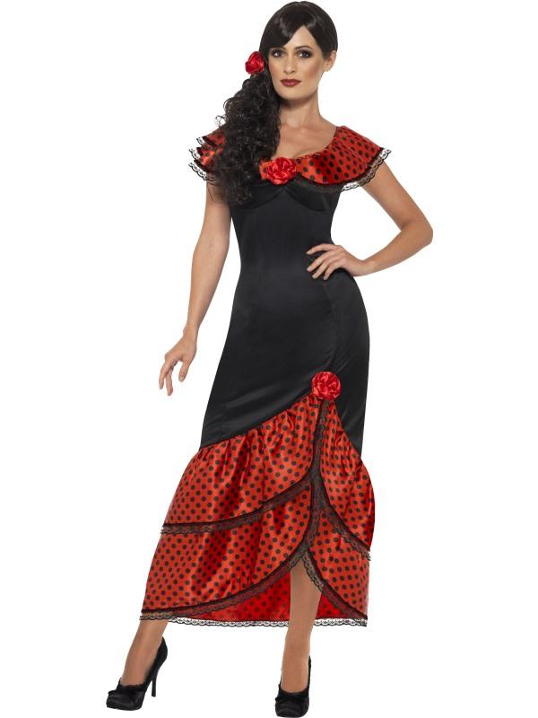 Flamenco Senorita Spaanse Jurk Kostuum