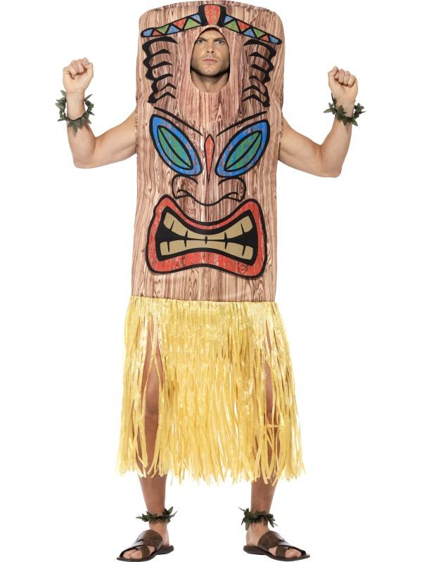 Tiki Totem Paal Carnaval Kostuum