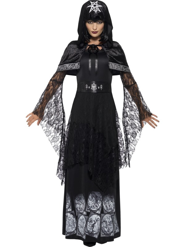 Black Magic Zwarte Magie Dames Kostuum