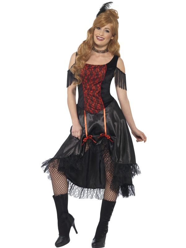 Saloon Girl Western Dames Kostuum