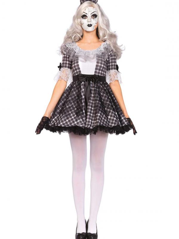 Porseleinen Pop Leg Avenue Dames Verkleedkleding