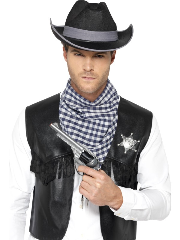 Western Wild West Verkleedset 4-delig
