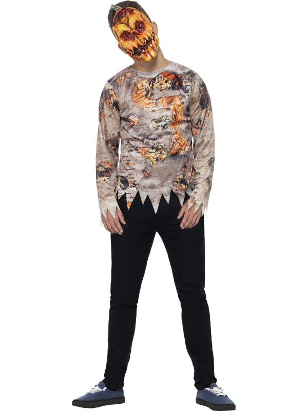 Vergiftigd Horror Pompoen Kostuum 2-delig