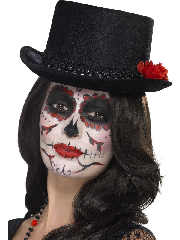 Day of the Dead Hoge Hoed met Roosjes
