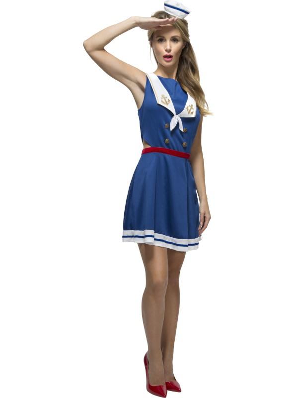 Fever Hey Sailor Zeevrouw Kostuum