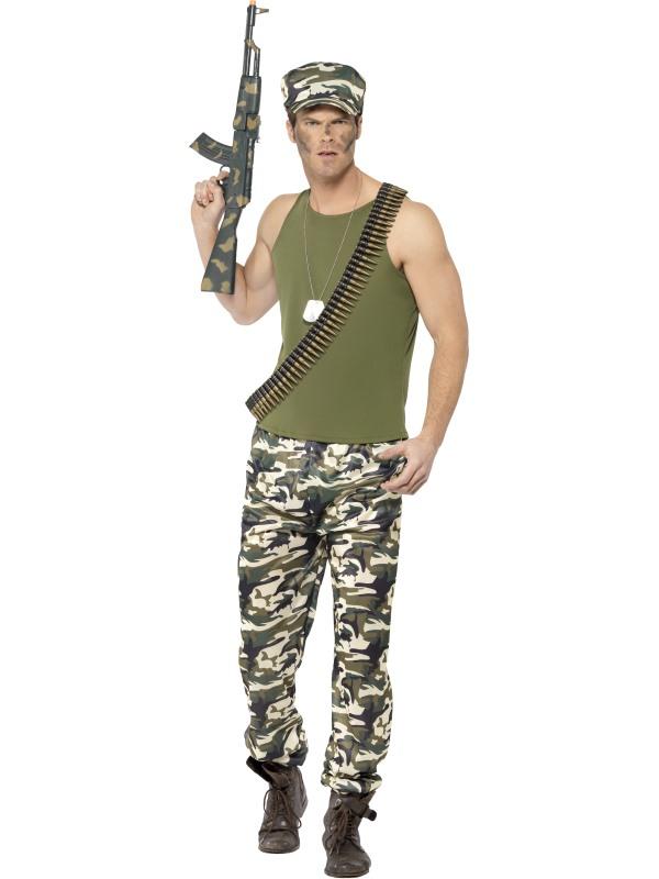 Army Leger Heren Kostuum