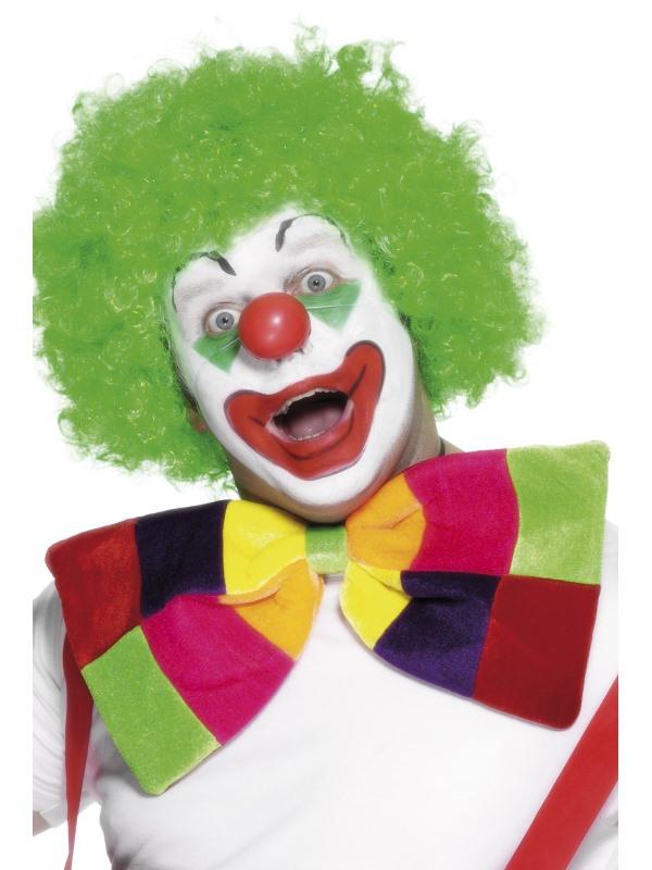Jumbo Grote Gekleurde Strik Clown