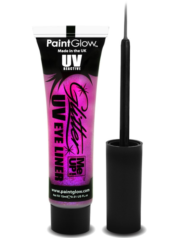 Roze UV Glitter Me Up Eyeliner