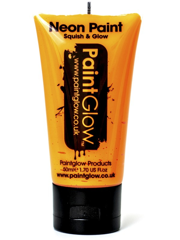 Oranje UV Face & Body Paint