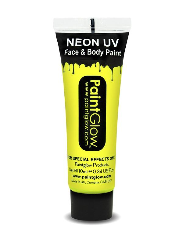Gele UV Face & Body Paint Make Up
